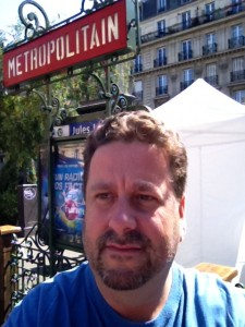 Me, in Paris, during by 2011 backpacking tour across Europe.